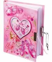 Groothandel ballerina dagboekje met slot speelgoed