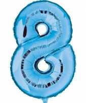 Groothandel blauw ballon cijfer 8 speelgoed