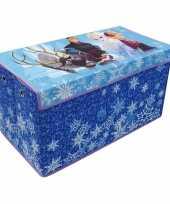 Groothandel blauwe elsa en anna speelgoed opbergbox 76 cm