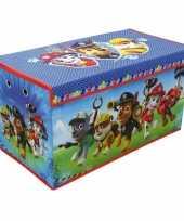 Groothandel blauwe paw patrol honden speelgoed opbergbox 76 cm