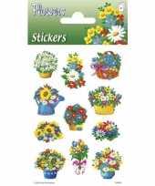 Groothandel bloemen stickers speelgoed