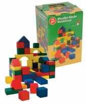 Groothandel blokken in ton 75 delig speelgoed