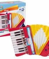 Groothandel bontempi kinder accordeon speelgoed