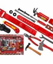 Groothandel brandweerman speelgoed set