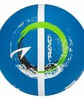 Groothandel buitenspeelgoed panna voetbal blauw 21 cm maat 5 voor kinderen volwassenen