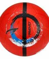 Groothandel buitenspeelgoed panna voetbal rood 21 cm maat 5 voor kinderen volwassenen