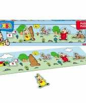 Groothandel bumba mini houten kinderpuzzels speelgoed