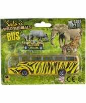 Groothandel bussafari speelgoed auto giraf print