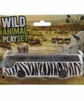 Groothandel bussafari speelgoed auto zebra print