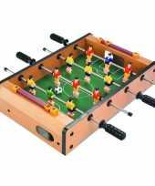 Groothandel compleet tafelvoetbalspel 35 x 10 cm speelgoed