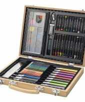 Groothandel complete kleurset in koffer speelgoed