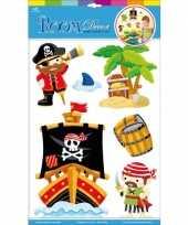 Groothandel decoratie muurstickers piraten speelgoed
