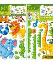 Groothandel decoratie muurstickers safari speelgoed