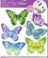Groothandel decoratie stickers vlinders speelgoed