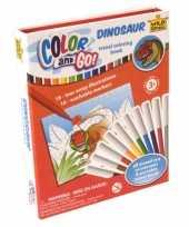Groothandel dinosaurus kleurboeken met stiften speelgoed