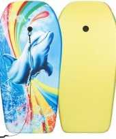 Groothandel dolfijnen speelgoed zwem bodyboard 93 cm voor jongens meisjes kinderen