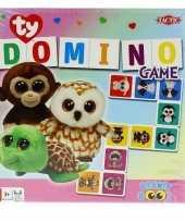 Groothandel domino spel ty beanie boo voor kinderen speelgoed