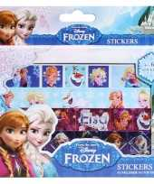 Groothandel frozen sticker doos met 4 stickervellen speelgoed