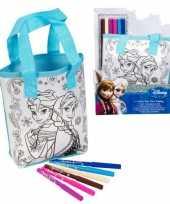 Groothandel frozen tas om zelf in te kleuren incl stiften speelgoed