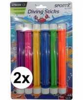 Groothandel gekleurde duik sticks 12 stuks speelgoed