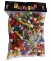 Groothandel gekleurde papieren roltong 72 stuks speelgoed