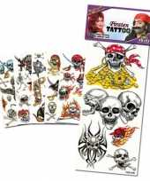 Groothandel gekleurde piraten tattoos speelgoed