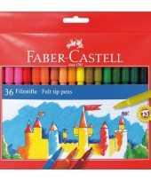 Groothandel gekleurde viltstiften 36 stuks speelgoed