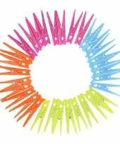 Groothandel gekleurde wasknijpers 32 stuks speelgoed