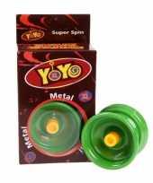 Groothandel groene yoyo speelgoed