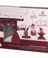 Groothandel hobbysetje kersthangers speelgoed