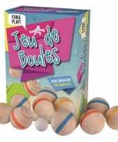 Groothandel houten jeu de boules speelset speelgoed