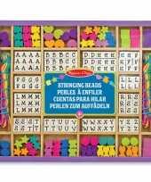 Groothandel houten kralensetjes stringing beads speelgoed
