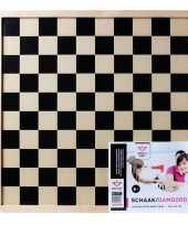Groothandel houten schaakbord 40 x 40 cm speelgoed