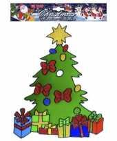 Groothandel kerst raamsticker kerstboom speelgoed