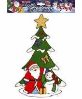Groothandel kerst raamsticker kerstman en sneeuwpop speelgoed