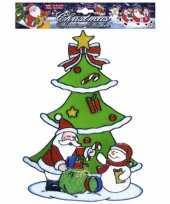 Groothandel kerst raamsticker sneeuwpop en kerstman speelgoed