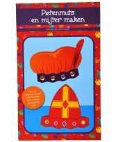 Groothandel kinder knutselset mijter en pieten muts speelgoed