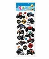 Groothandel kinder monstertruck stickers speelgoed
