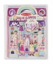 Groothandel kinder stickerboek met glamour speelgoed