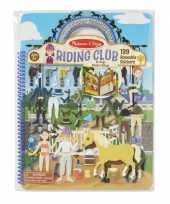 Groothandel kinder stickerboek met paarden thema speelgoed