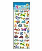 Groothandel kinder stickers voertuigen speelgoed