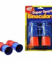 Groothandel kinder verrekijker rood blauw speelgoed