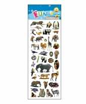 Groothandel kinder verschillende dieren stickers speelgoed