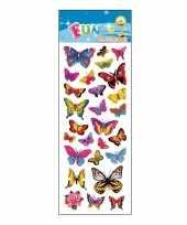 Groothandel kinder vlinders stickers speelgoed