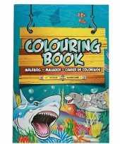 Groothandel kinderspeelgoed oceaan dieren thema kleurplaten a4 formaat kleurboeken tekenboeken
