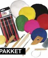 Groothandel klei speelgoed pakket met boetseerpasta en gereedschap