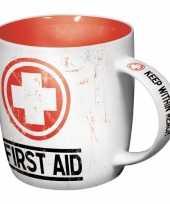 Groothandel koffiebeker first aid 33 cl speelgoed