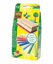 Groothandel krijtset 12 kleuren speelgoed