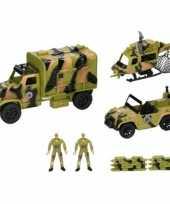 Groothandel leger speelgoed 8 delig
