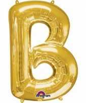 Groothandel mega grote gouden ballon letter b speelgoed